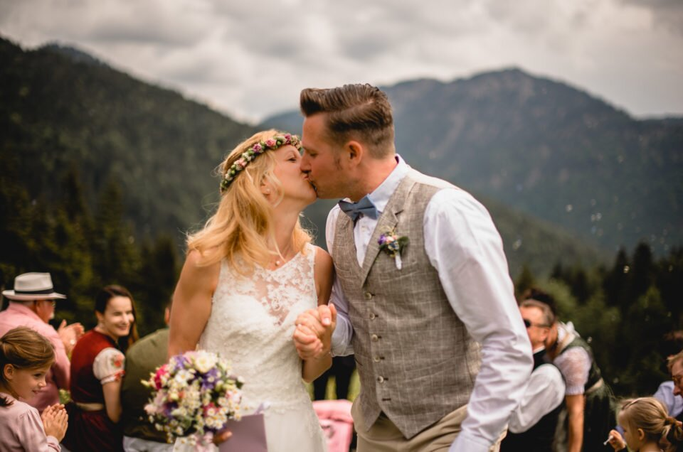 wedding in the Bavarian mountains